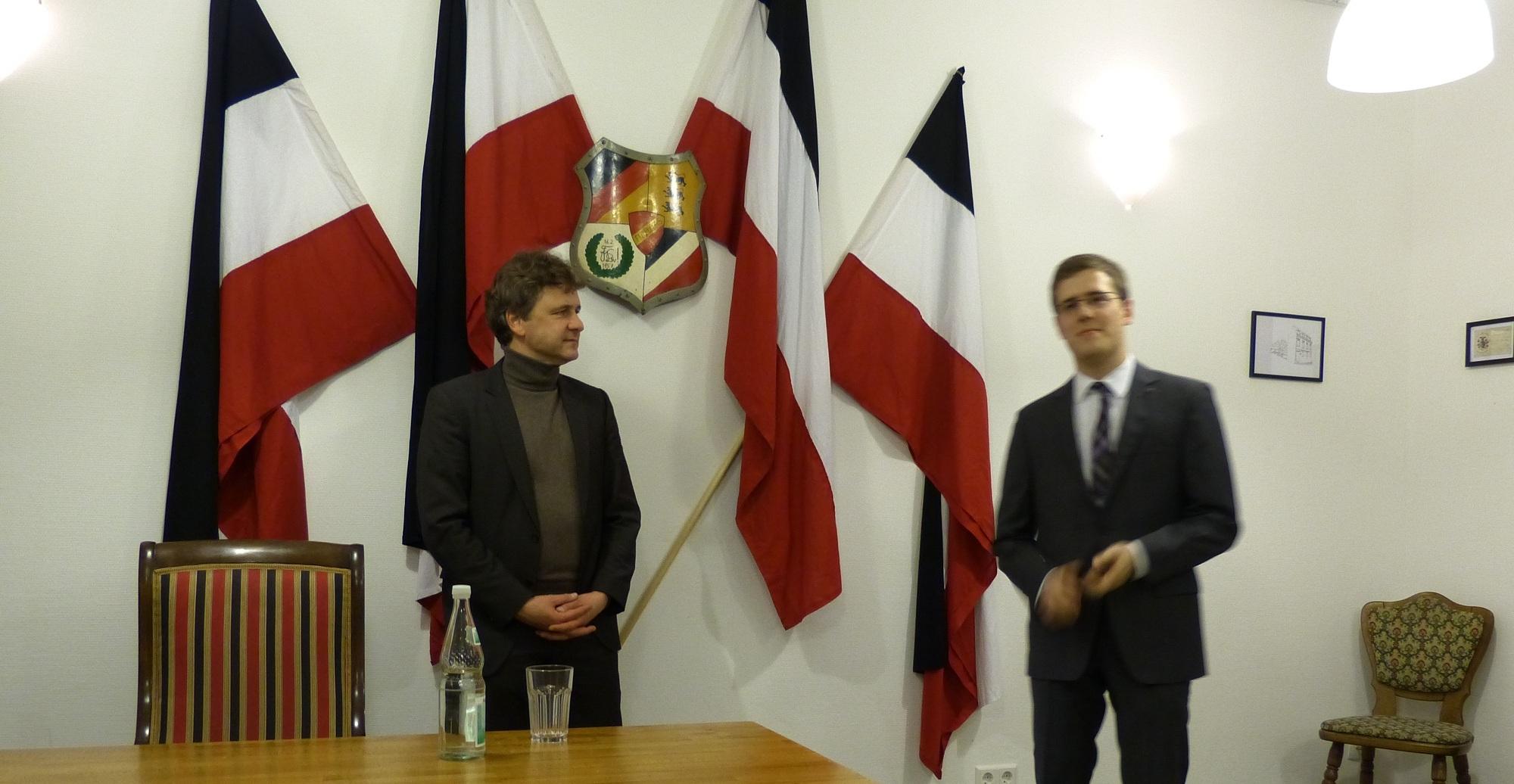 Vortrag OB-Kandidat Dr. Frank Mentrup (SPD, MdL)