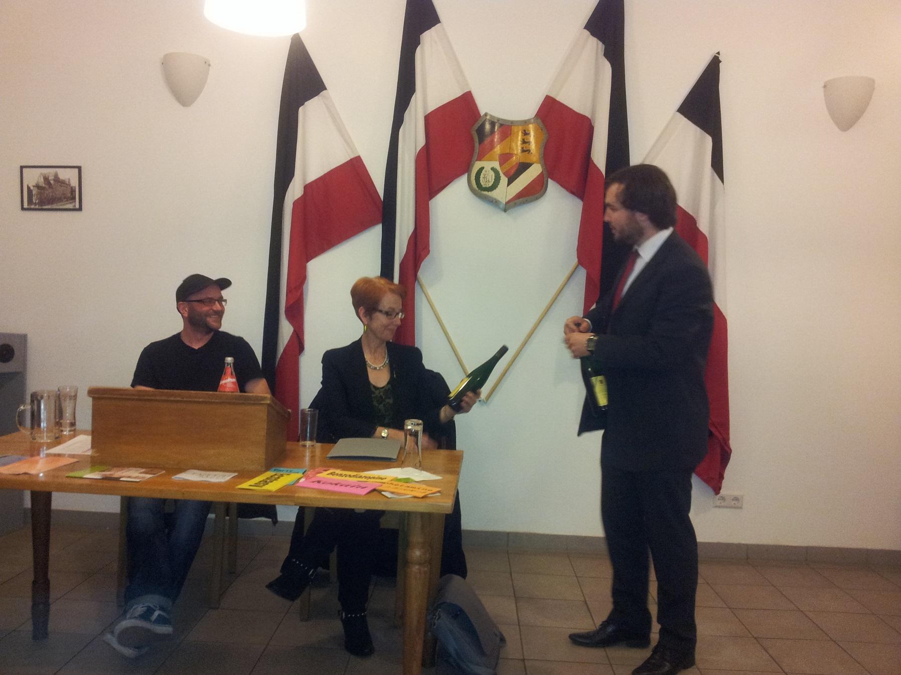 Das Get-In Karlsruhe – Ein Vortrag von Petra Krauth und Lutz Reeb