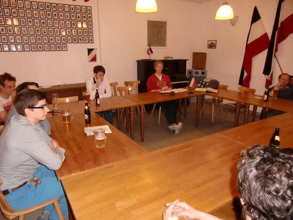 Diskussionsrunde zum Ukrainischen Ost-West-Konflikt