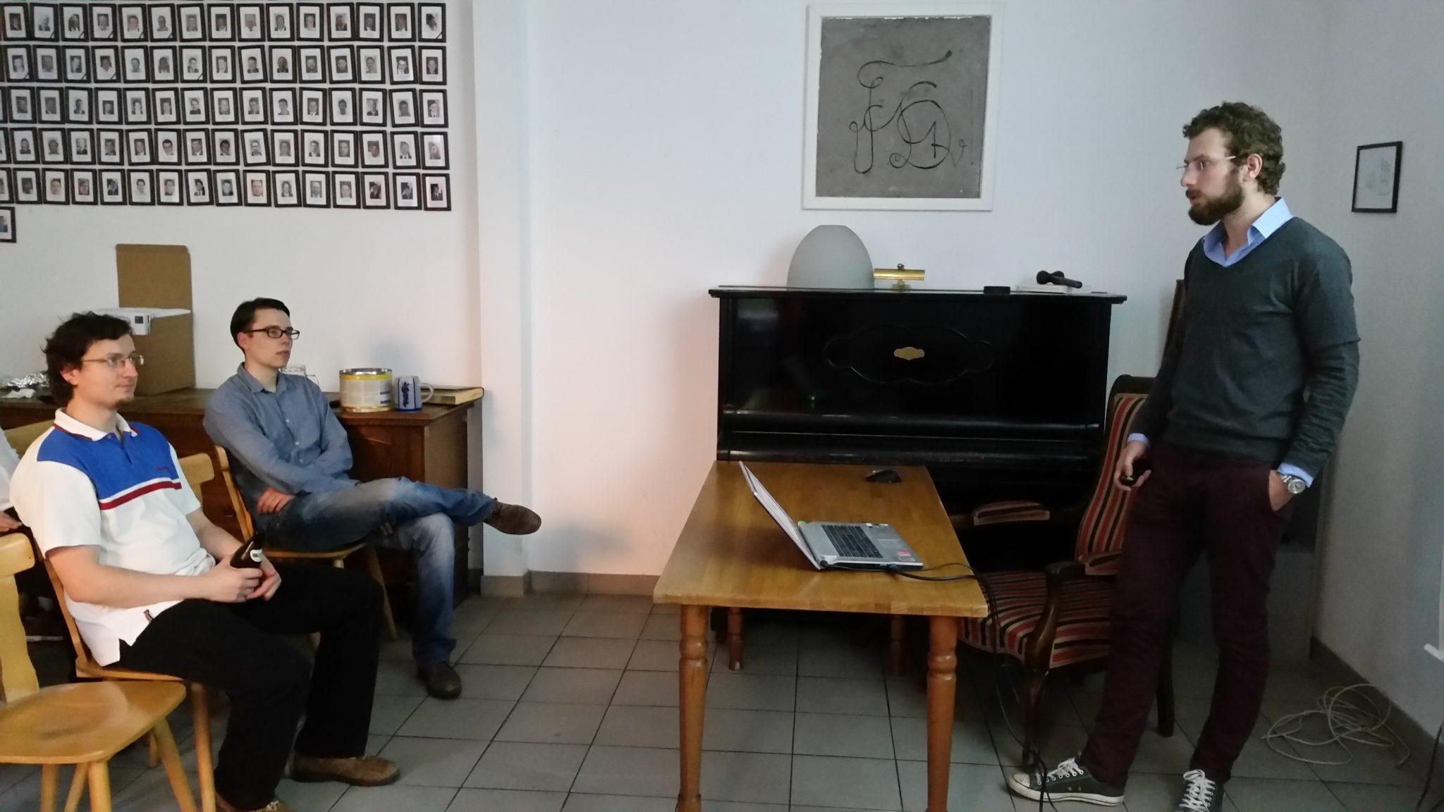 Burschungsvortrag über Drogen und ihre Wirkung auf Körper und Geist von Malte Löning
