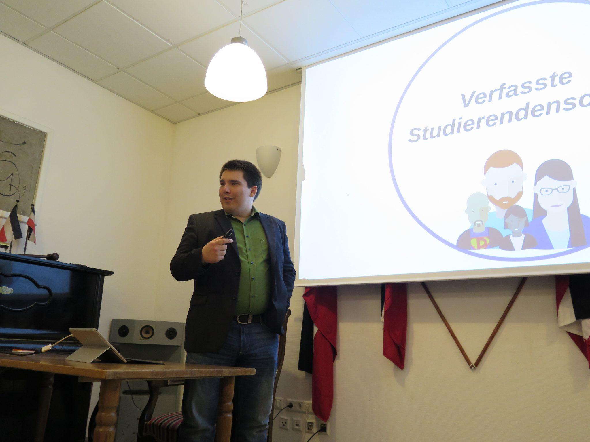 Weiterentwicklung der Hochschullandschaft unter fünf Jahren Grün/Rot – ein Vortrag von Alexander Salomon
