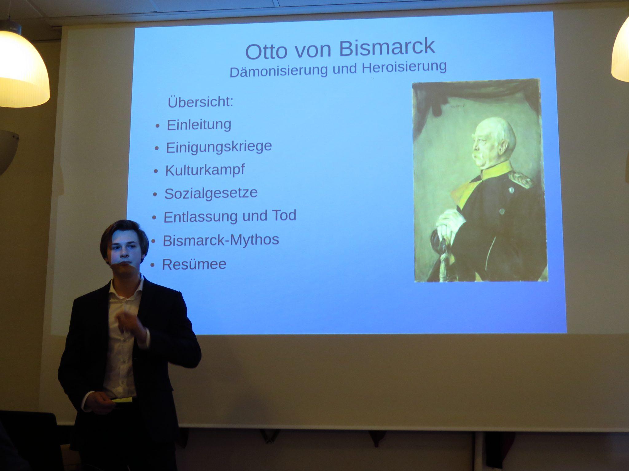 Otto von Bismarck – Burschungsvortrag von Marcel Kinzen