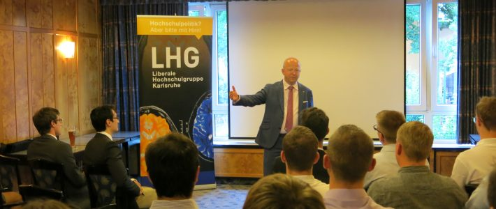 Die FDP und die soziale Marktwirtschaft – ein Vortrag von Michael Theurer